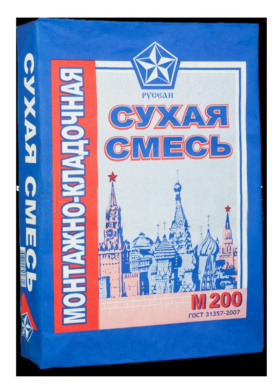 Сухая смесь М-200