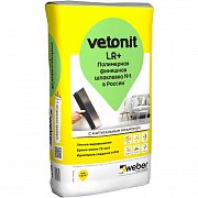 Шпаклевка VETONIT FINISH LR PLUS / ВЕТОНИТ ФИНИШ ЛР ПЛЮС (20 кг)